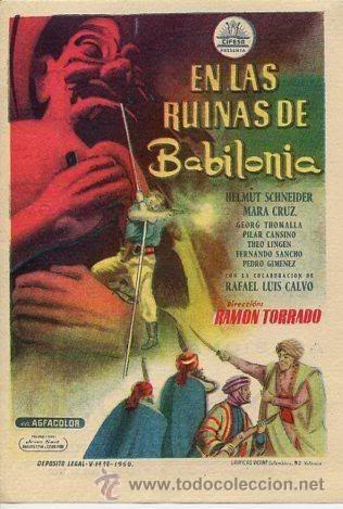 EN LAS RUINAS DE BABILONIA