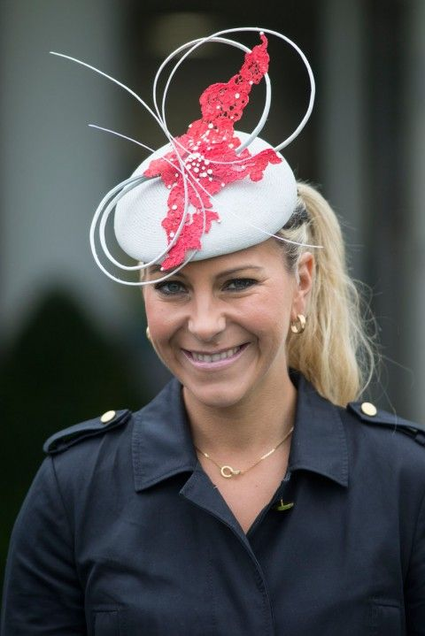 Beautiful Emma Spencer in her Vivien Sheriff hat at Glorious Goodwood Races Day 1. #passion4hats