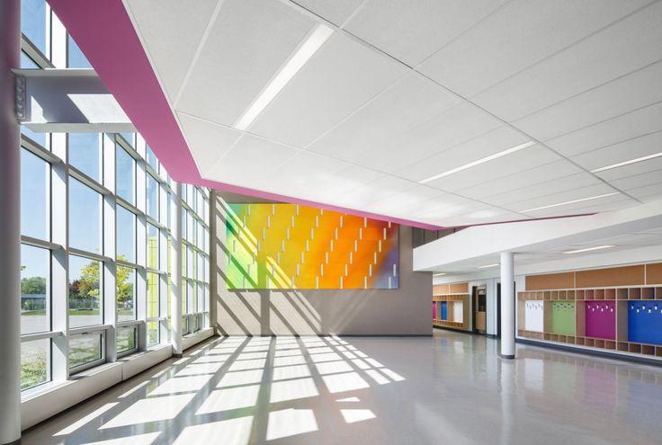 école primaire St-Patrick – Héloïse Thibodeau Architecte