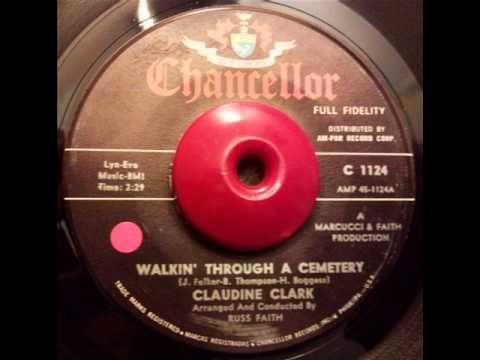 walking through a cemetery claudine clark - 100 Halloween Songs