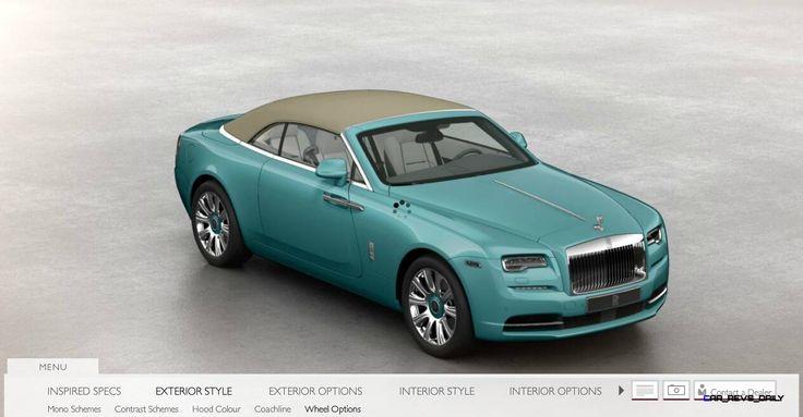 Rolls Royce DAWN Configurator 4