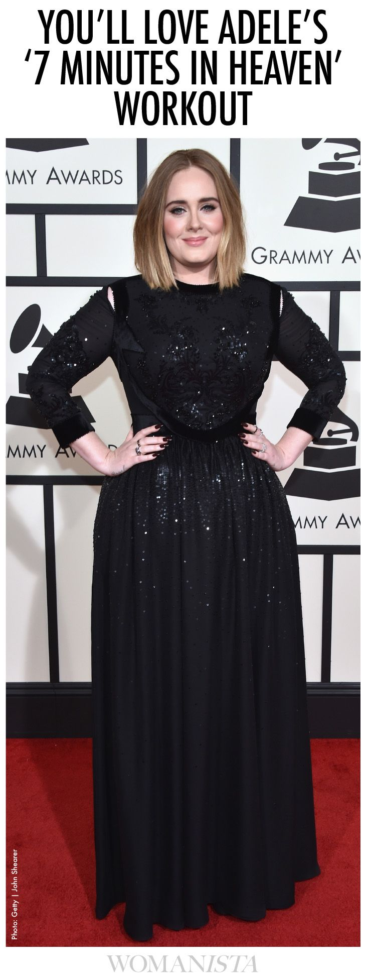 Try Adele's 7 Minute Workout to Burn Calories Fast - Womanista.com