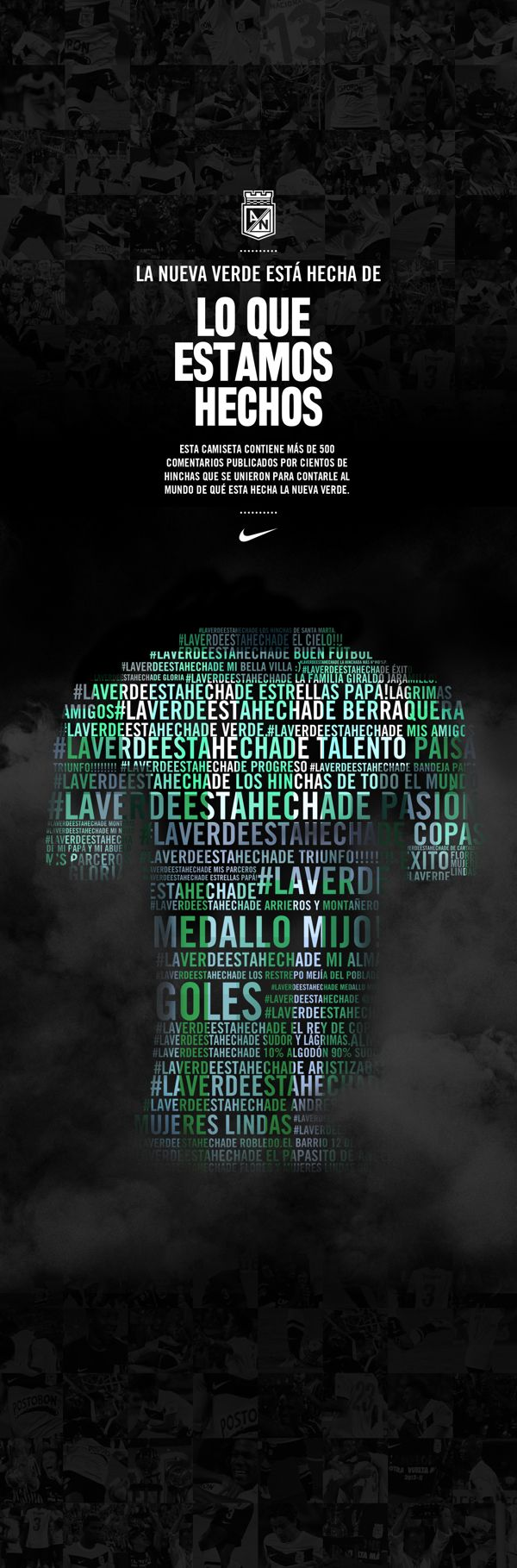 Nike / Atletico Nacional on Behance