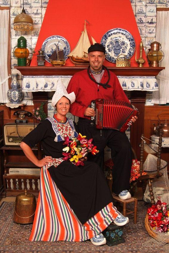 Costume of Volendam, North Holland, The Netherlands - #Netherlands #travel