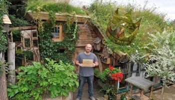 Owned by Kevin Herbert, this eco shed is constructed from nearly 90% recycled materials, and took Kevin over eight years to construct. The Shed of the year 2016 is the .... West Wing