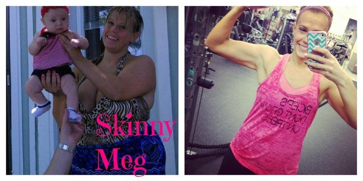 Skinny Meg Blog - great inspiration to keep you motivated!!