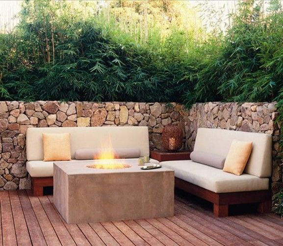 Wieske Design Contemporary Outdoor Living Spaces Stone