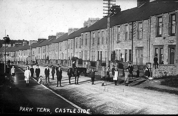 67 best consett in old photos images on pinterest dawn for 67 park terrace east