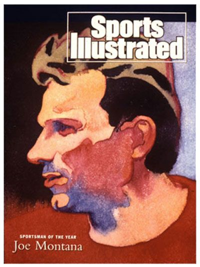 All Things Ruffnerian, a Design Blog and More - Sports Illustrated cover art by James McMullan
