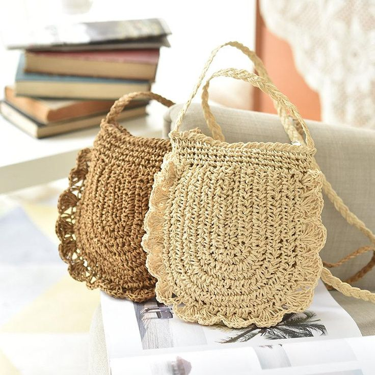 Straw Casual Light Trave Bag