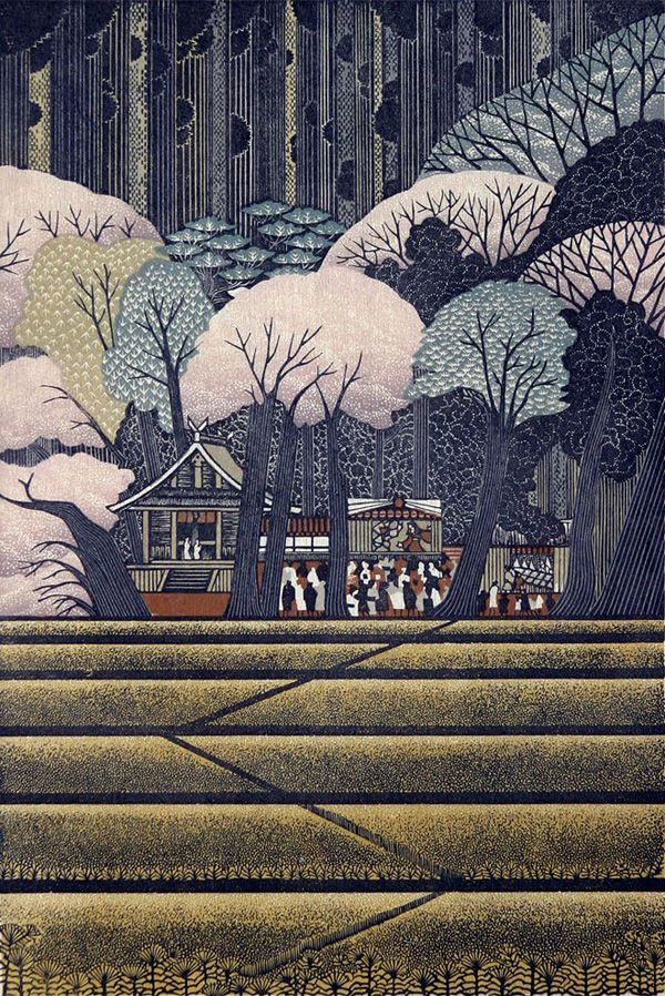 Ray Morimura | Woodblock Prints. WOW