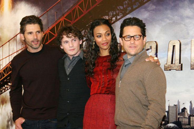 Anton, Eric Bana, Zoe Saldana & J.J. Abrams - Star Trek Event in Russia (2009)