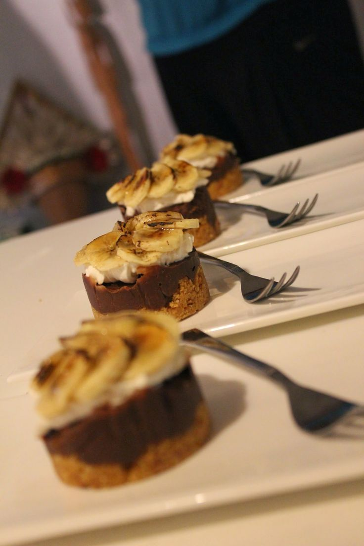 Reconstructed Chocolate Banoffee Pie