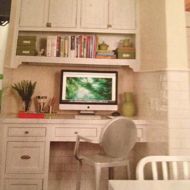17 Best Ideas About Kitchen Desk Areas On Pinterest