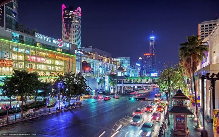 thailand, bangkok, city, Таиланд, Бангкок, город