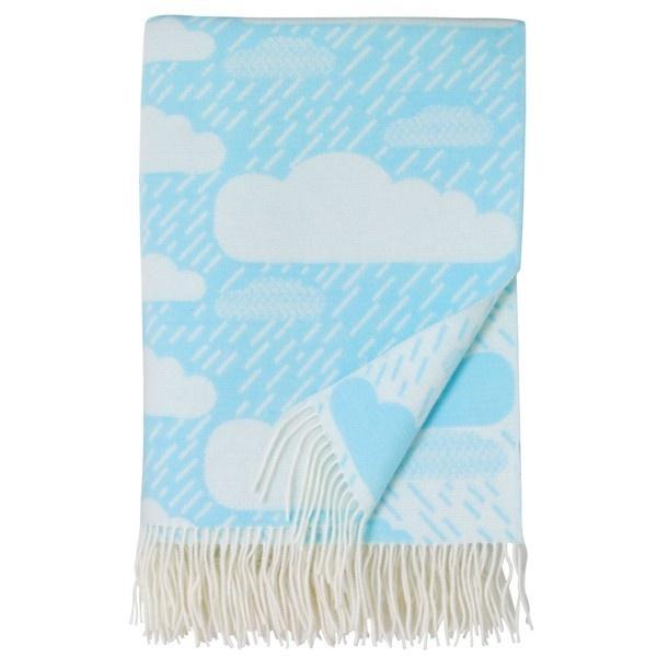 Lambswool Blanket - Rainy Day