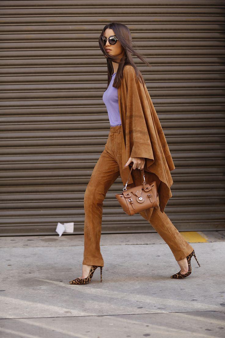 NYFW - look desfile Ralph Lauren camila coelho / Look e Bolsa: Ralph Lauren | Sapato: Louboutin | Óculos: Miu Miu