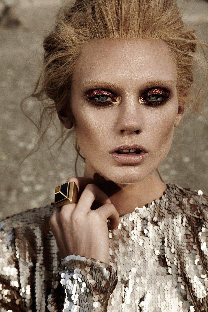 Caroline Wilson Photographer: Jamie Nelson Hair: Luke Chamberlain Makeup: Lottie Stylist: Lizette Pena