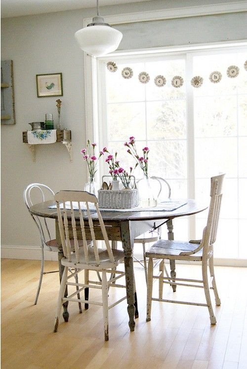 17 Best Images About Table And Mismatched Chairs On