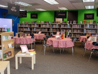 """inviting kids into poetry with a """"Poetry Picnic"""" to explore different types and styles of poetry in rotations"""