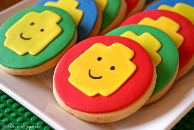 LEGO Cookies!