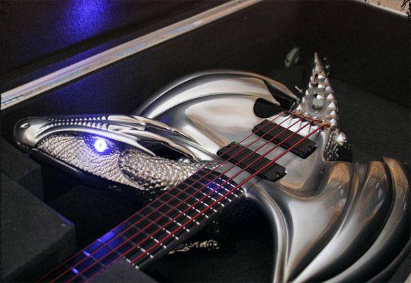 "Custom ""Draco"" Guitar by Emerald Guitars 01"