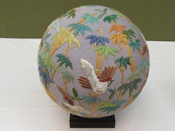 サンタクロース竹にスズメ地球儀お雛様ごてんまりがビンの中に!パンダ