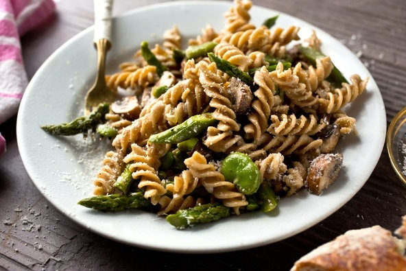 Pastas of Spring - Healthy pasta recipes using the first veggies of the season. -- nytimes.com