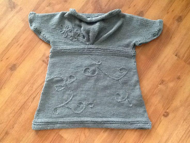 Chandail tricot, crochet
