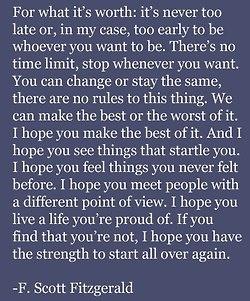 Pinterest ...F Scott Fitzgerald Quotes I Hope You Live A Life