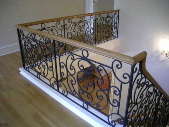 Wrought Iron Banister ❤