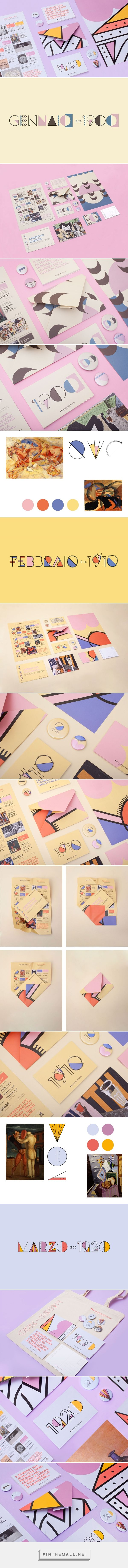 Museo del 900 – Yearly programme on Behance - created via http://pinthemall.net