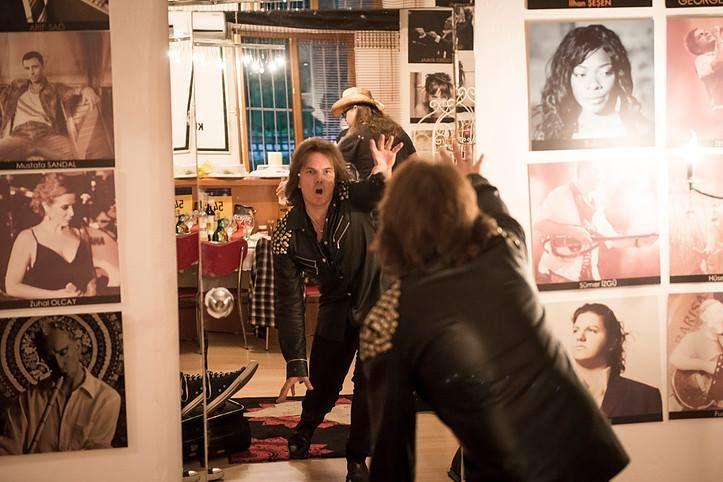 Europe band, AAA, portrait and live shoot in Bursa, Turkey (Photo by Will Ireland  Classic Rock MagazineTeamRock)