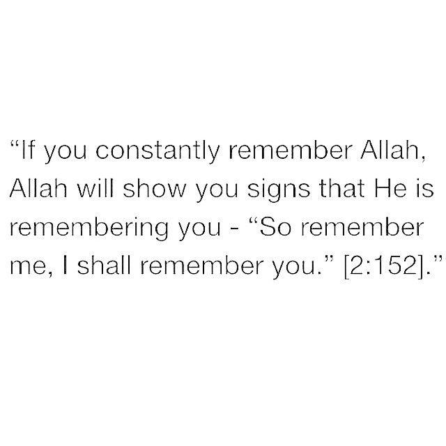 #RememberAllah