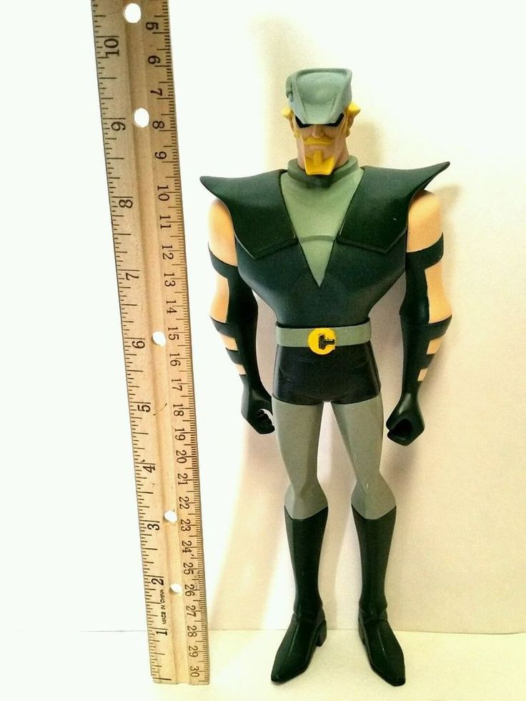 Green Arrow Action Figure Vintage Rare TM DC Comics 9.5 IN Inches Tall Moveable  #DCComics
