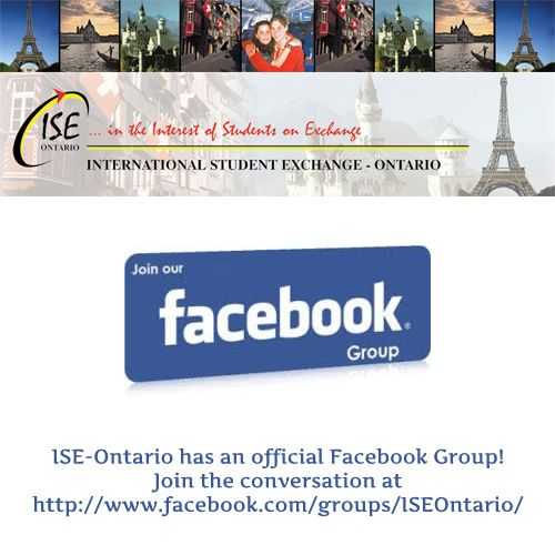 Join our Facebook Group! ISE Ontario