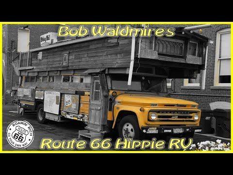 A look inside Bob Waldmire's bus - Route 66 News