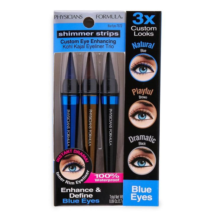Physicians Formula Shimmer Strips Kohl Kajal Eyeliner Trio for Blue Eyes - 0.09 oz - Hollar | So. Much. Good. Stuff