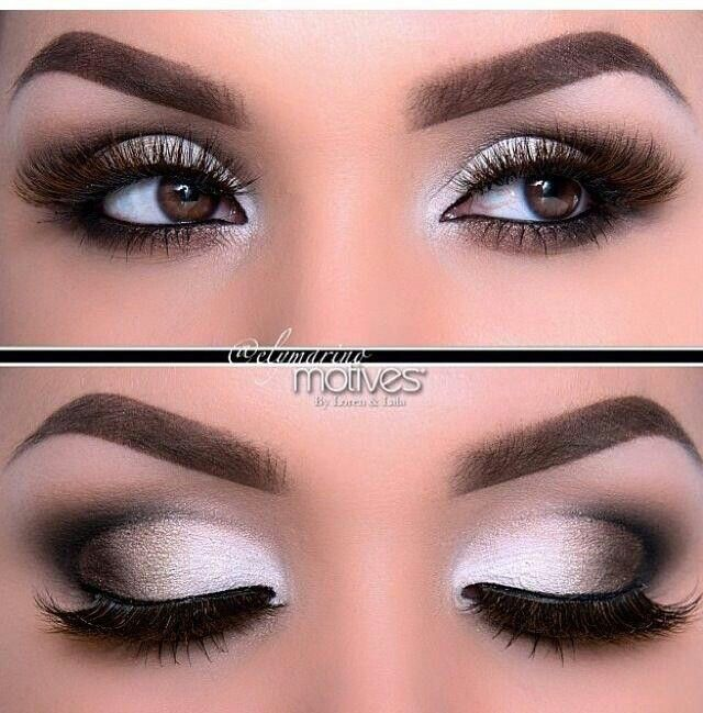 Smokey eye for brown eyed girl