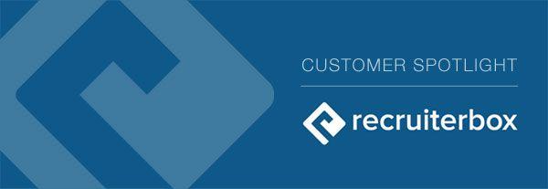 recruiterbox logo for customer spotlight