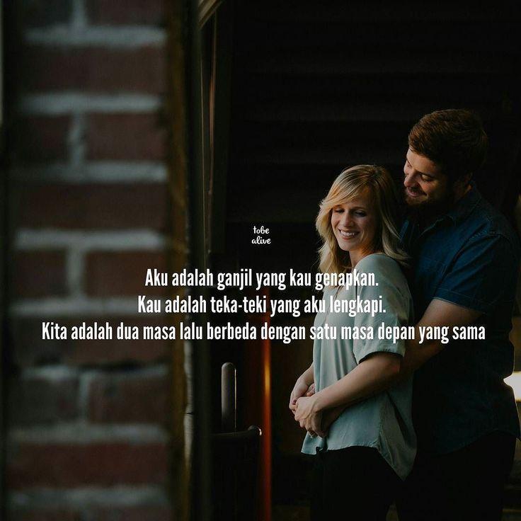 """""""Aku adalah ganjil yang kau genapkan. Kau adalah teka-teki yang aku lengkapi. Kita adalah dua masa lalu berbeda dengan satu masa depan yang sama"""" -Fiersa Besari . . .  Tag like dan comment.  Kirim (DM /Like) kata-kata buatanmu ya.  #katakata #quotes #quotesoftheday #pathdaily #pathindonesia #yangterdalam #pecahankaca #catatanfilm #melodydalampuisi #sajak #puisi #sastra #kutipan"""