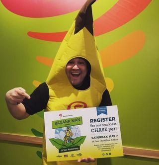 ジャンバジュース1年分!Banana Man Chase 5k