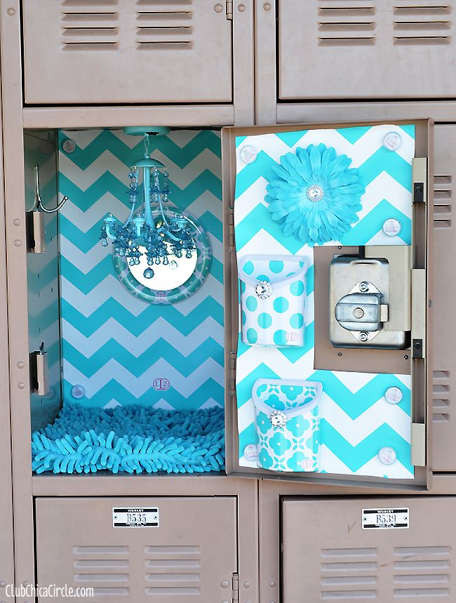 Glam Up Your Locker With LLZ By LockerLookz   Club Chica Circle   Where  Crafty Is