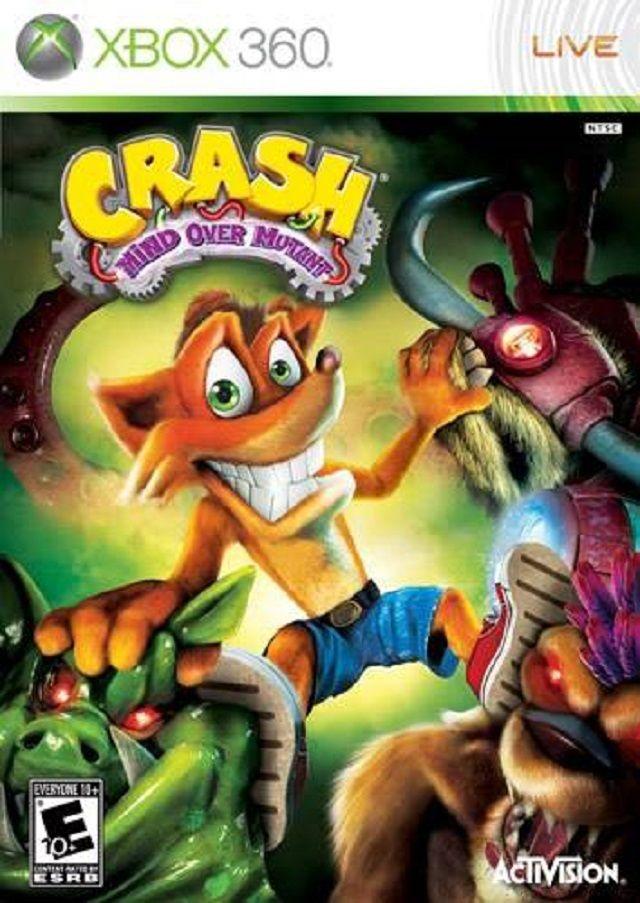 Crash Bandicoot Mind Over Mutant Xbox 360 Game Crash Bandicoot Wii Games Bandicoot