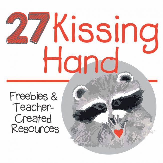 The Kissing Hand is a classic book for many kindergarten classrooms on the first day of school. Here are 27 Kissing Hand freebies, activities and videos.