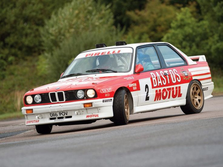 BMW E30 M3 rally car