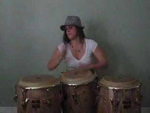Crystal Vargas: Little somethin' I did at home... woo hooo!