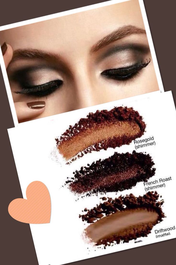 Get this glamorous look with Mary Kay's Mineral Eye Shadow; Rosegold, French Toast, and Driftwood! #MaryKay #beauty #trendy www.marykay.com/brookeramsey