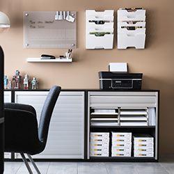 17 meilleures id es propos de galant schreibtisch sur - Ikea meuble de rangement bureau ...