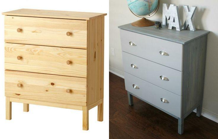 DIY Ikea Tarva Dresser Hack - Delighted Momma